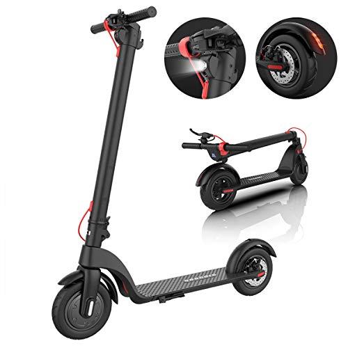 Klappbar Elektroroller, Elektro Scooter, Faltbarer Roller für Erwachsene und Jugendliche mit 10