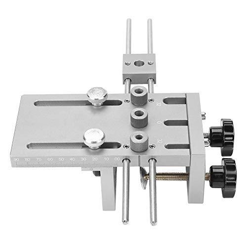 Akozon Perforatrice Pinza per Fare Buchi Cintura 3 in 1 Punch Tool Occhiello Strumento Perforatore Girevole Perforatore a Mano 6/8/10/15mm Lavorazione del Legno