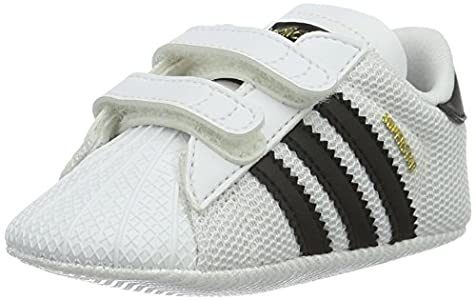 Adidas Superstar Crib, Zapatillas Unisex niños, Multicolor (Blanco/Negro), 19 EU