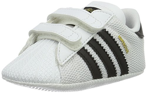 Adidas Superstar Crib, Zapatillas Unisex niños, Multicolor (Blanco/Negro), 18 EU