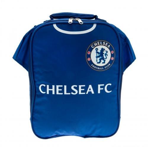 Official Football Merchandise Set Lunchtasche Fußball Team, FC Chelsea, Circa 29 x 22 x 6 cm