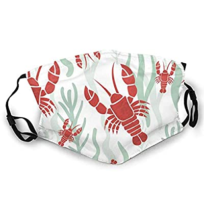 Adult Face Cover Lobster