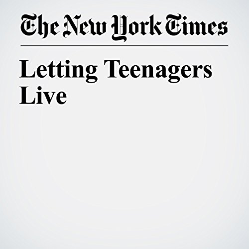 Letting Teenagers Live copertina