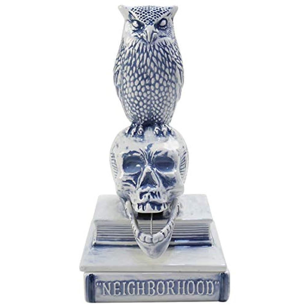 コーン深く作りNEIGHBORHOOD ネイバーフッド 18SS OWL-B/CE-INCENSE CHAMBER お香立て 青 フリー