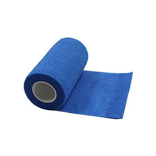 ultnice 6Rollen kohäsive Bandage Tape selbsthaftende Bandage Klebeband für Athletic Sport 7,5x 450cm (blau)