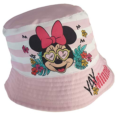 Minnie Mouse - Sommerhut in rosa - Gr. 52
