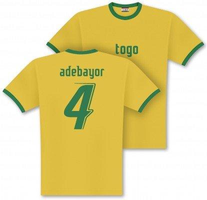 World of Football Player Shirt Togo adebayor - M