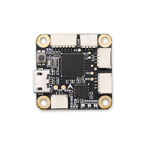 TCMMRC F4 Flight Controller OSD & 20A Blheli_S 2-4S DSHOT600 Brushless ESC for RC Drone FPV Racing 20x20mm (F4 Flight Controller)