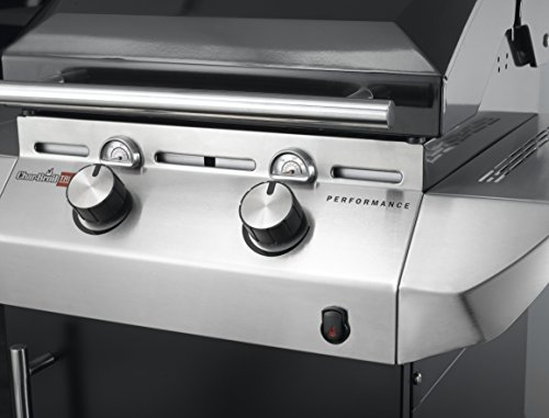 Char-Broil Performance Series T36G5 – 3 Burner Gas Barbecue Grill with TRU-Infrared technology and Side-Burner…