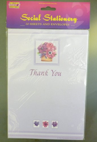 SET OF 3 - 60 Thank You Notes With Envelopes (MI106) [Toy]