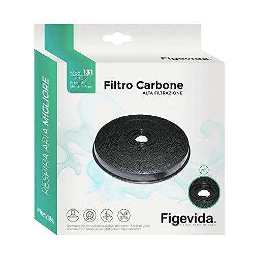 Filtro Carbone Cappa Faber Ø 23.2 cm - Garanzia 24 Mesi Figevida