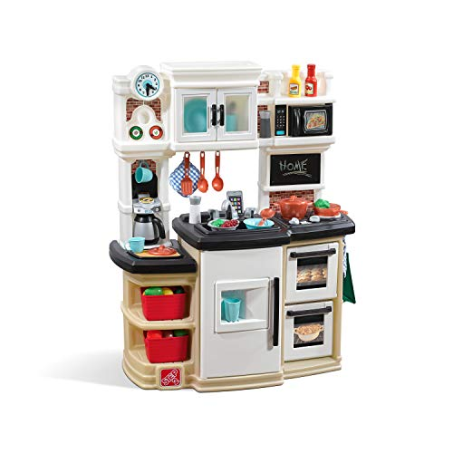 Product Image of the Step2 Great Gourmet Kitchen | Durable Kids Kitchen Playset with Lights & Sounds...