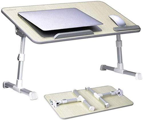 Soporte para ordenador portátil ajustable mesa de cama portátil escritorio de pie plegable sofá bandeja de desayuno soporte de lectura para sofá piso niños