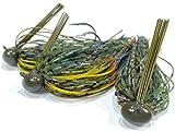 Rock Crawler Tungsten Football Jigs for Bass Fishing - Premium Tournament-Grade Jig Head Fishing Lure Set - Perfect...