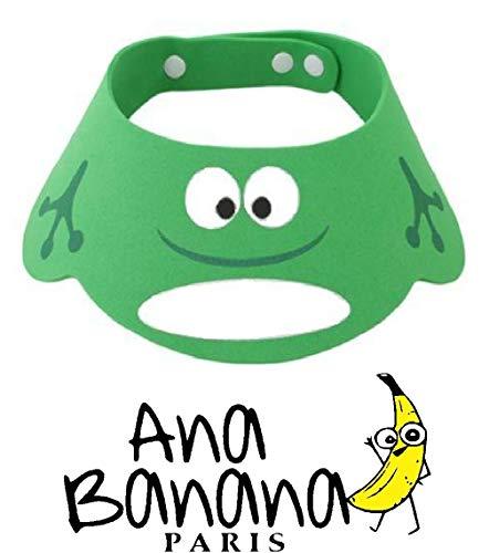 Ana Banana Paris : Visière de Bain Bebé Enfant pour Shampoing Douche, Protection Yeux Oreilles,...