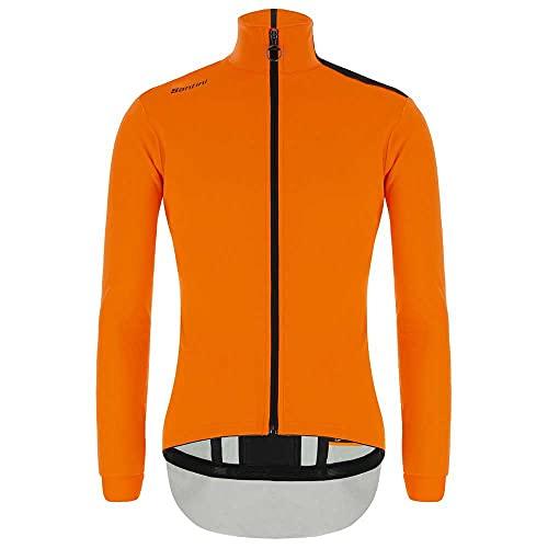 Santini Vega Multi-Weather Winterjacke Herren Fluo orange Größe XL 2020 wasserdichte Jacke