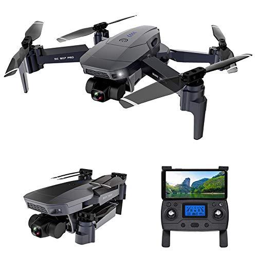 Goolsky SG907 PRO GPS RC Drone con Fotocamera 4K Gimbal a 2 Assi 5G WiFi FPV Posizionamento del Flusso Ottico Quadcopter Punto di Interesse Waypoint Volo 800m Distanza di Controllo