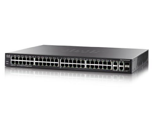 Cisco SG300-52P - network switches (LACP, IGMP v1, 2, SNMP 1, 2c, 3, IEEE 802.1D, IEEE 802.1p, IEEE 802.1Q, IEEE 802.1s, IEEE 802.1w, IEEE 802.1x, IEEE 802.3, IEEE 802.3, 10/100/1000 Mbit/s, Managed, L3, Black)