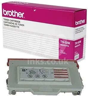 Brother TN02M ( Brother TN-02M ) Laser Toner Cartridge - Magenta, Works for HL-3400CN