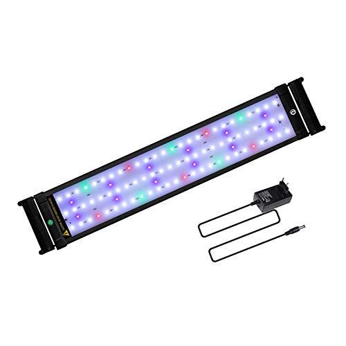 JOYHILL Eclairage Aquarium LED, Rampe LED pour Aquarium d'eau Douce, Lumiere Aquarium Plantes, 2...