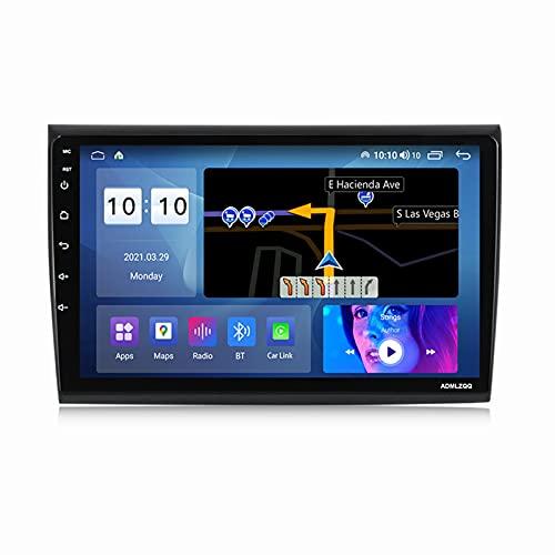 ADMLZQQ para Fiat Bravo 2007-2012 Android 10.0 Radio De Coche Car Stereo Car MP5 Player 9 Pulgadas Pantalla Táctil con Carplay FM Am Bluetooth Cámara Trasera Control del Volante,M600s 8core 6+128g