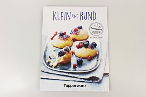 TUPPERWARE Cuaderno de recetas 'Pequeño y redondo' para cocinar recetas en alemán