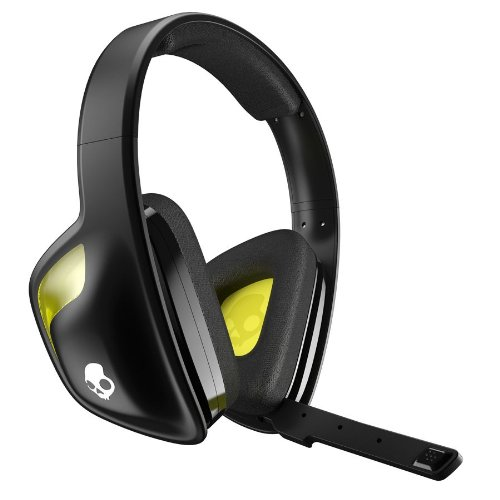 Skullcandy SLYR Gaming Headset, Black/Yellow (SMSLFY-207)