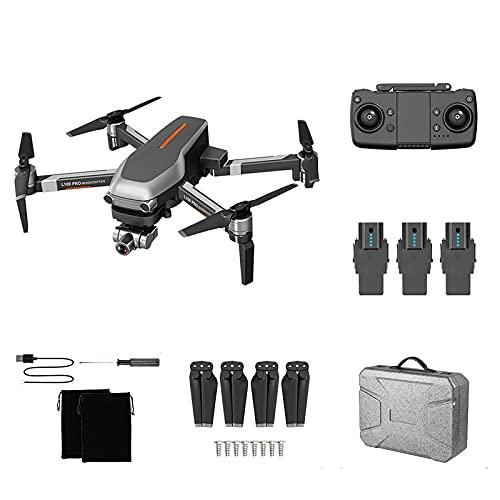 Drone Gps Pieghevole L109 Pro Con Fotocamera Uhd 4K Per Adulti, Quadricottero Con Motore Brushless, Ritorno Automatico A Casa, Seguimi, Tempo Di Volo Di 25 Minuti, Include Borsa Per Il Trasporto