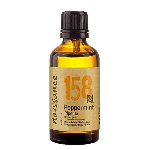 Naissance Pfefferminzöl 50ml 100% naturreines ätherisches Öl