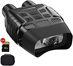 JStoon Night Vision Goggles Night Vision Binoculars - Digital Infrared Binoculars with Night Vision can Take HD Image & 960p Video from 300m/984ft in The Dark with 32 Memory Card, JS-03 Night Goggles