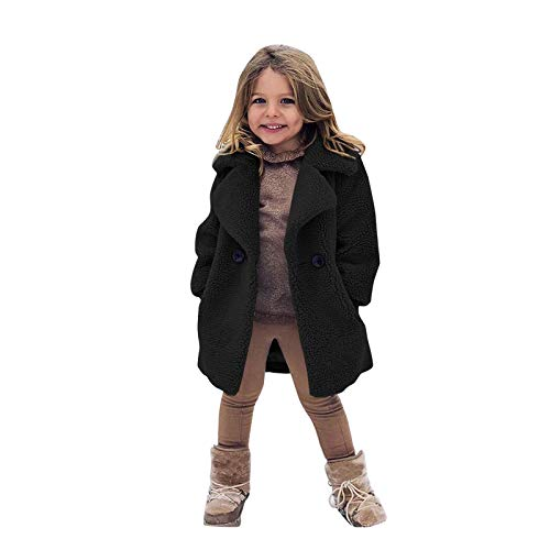 Toddler Baby Clothes Outfit Hoodie Coat,Kids Girls Winter Windproof Thicken Coat Jacket Warm Fleece Outerwear