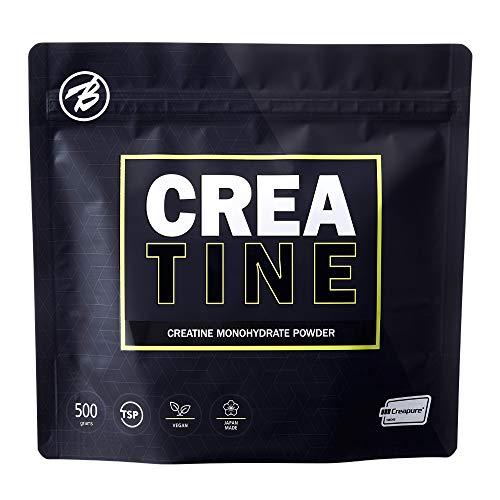 バルクスポーツ クレアチン モノハイドレート パウダー 高純度原料 Creapure 100%使用 500g(5,000mg x 100食分)