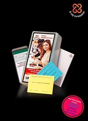 Lernkarten (668 Stück, gedruckt A7) + App + Box für den Fachwirt im Gesundheits- und Sozialwesen | Auflage Ende 2019 | Komplettsatz mit allen 6 Fächern