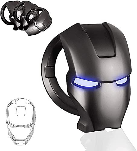 Iron Man 3D animation Motor Start/Stop Tapa de botón decorativo botón de...