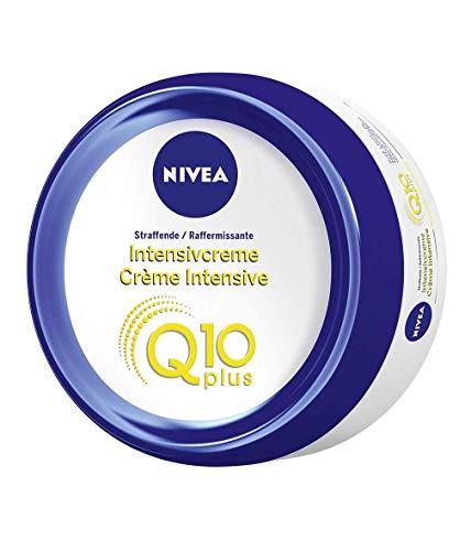 NIVEA Q10 Hautstraffende Intensivcreme für alle Hauttypen (300 ml), Körpercreme für Bauch, Beine und Po, intensiv straffende Feuchtigkeitscreme