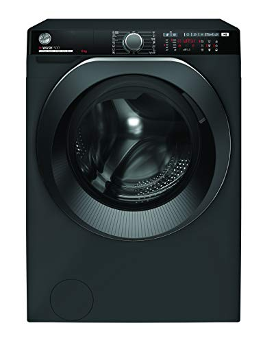 Hoover H-WASH 500 PRO HWP 49AMBCR Waschmaschine / 9kg / 1400 U/Min. / Eco-Power Inverter Motor / Auto Care Programm / ActiveSteam Dampffunktion / Mengenautomatik Plus / Aquastop / WLAN