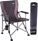 Folding Camping Chair Portable Camp Chair for Adults,Supports 300 lbs, Oversized Heavy Duty Folding...
