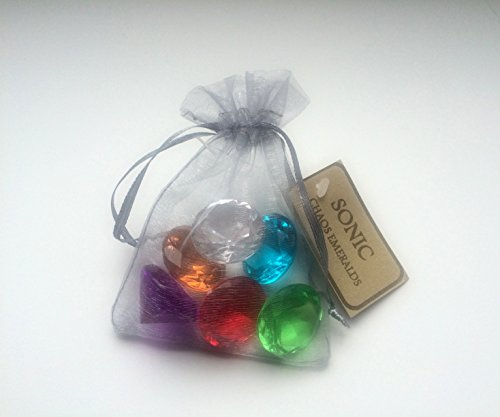 Non-Branded Sonic - Chaos Emeralds - Set of 7
