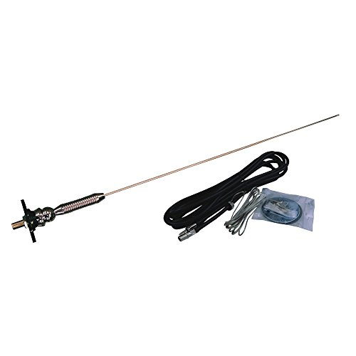 Jensen HS519L AM FM RV Antenna With Adjustable Ball Base for Top or Side Mounting