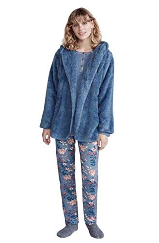 PROMISE Pijama de 3 Piezas de Invierno, Camiseta, Pantalón