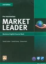 Market Leader Pre-intermediate Coursebook by Cotton, David, Falvey, David, Kent, Simon [Longman,2012] [Paperback] 3rd Revised edition