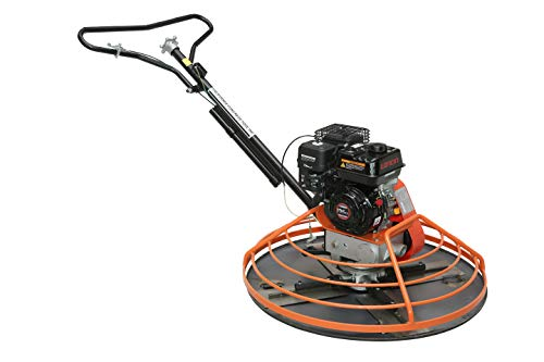 """CCTI Walk-Behind 36"""" Power Trowel with Float Pan - Powered by 5.5 HP Loncin G200FA Gasoline Engine"""
