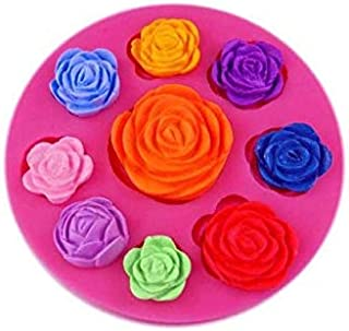 S.Han Silicone Flower Fondant Mould Mold Baking Cake Decorating Tool Clay Art Craft Resin