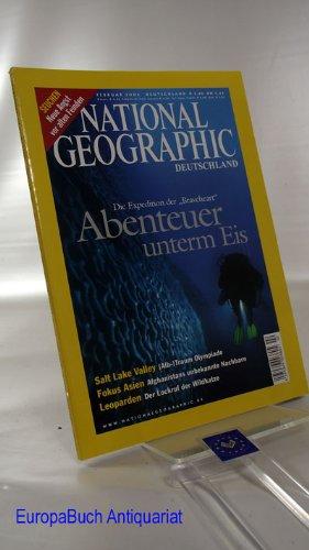 National Geographic. Deutschland. Februar 2002 (Heft 2; 2002). Die Expedition der