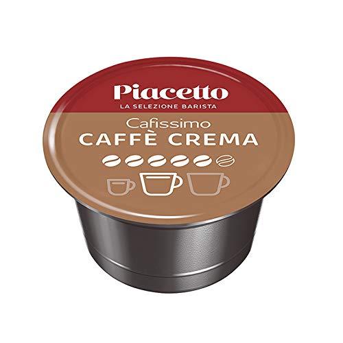 Kaffee Kapseln Piacetto Caffè Crema Supremo | 96 Kaffeekapseln | Hochwertiger Kaffee | Ideal für Tchibo Cafissimo Kapselautomaten | Einzigartige Piacetto-Kaffeequalität