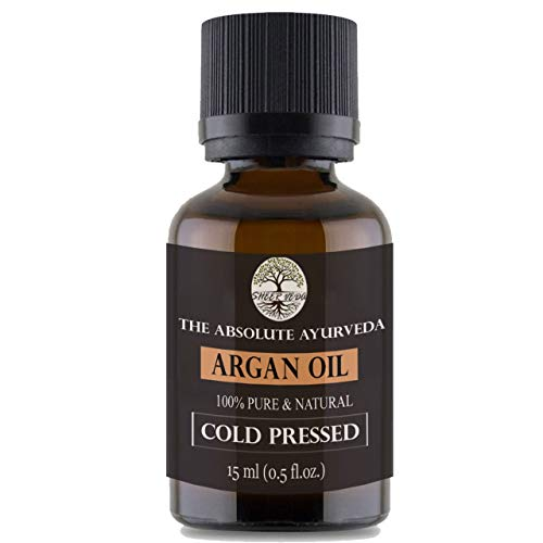 Sheer Veda Moroccan Argan Oil For Hair, Skin and Body. Organic and Cold Pressed Argan Oil (15 ml)