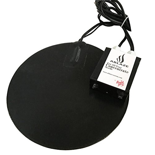 Ablaze 10 Inch Heat Digital Heat Vac Pad for Glass Stainless Steel Aluminum Vacuum Chamber