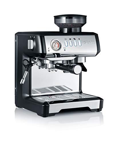 Graef ESM802EU Milegra Siebträger-Espressomaschine, 1600, schwarz