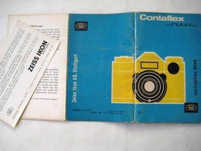 CONTAFLEX SUPER. INSTRUCTION BOOK