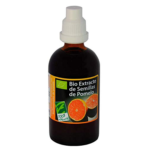 100% Natural Extracto Semillas Pomelo Bio Bioflavonoides Vitamina C  100 mililiter